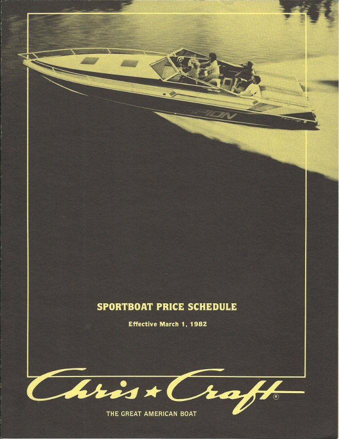 cc 1982 price schedule pg 1 1986 chris craft cavalier wiring diagrams,craft \u2022 indy500 co  at n-0.co